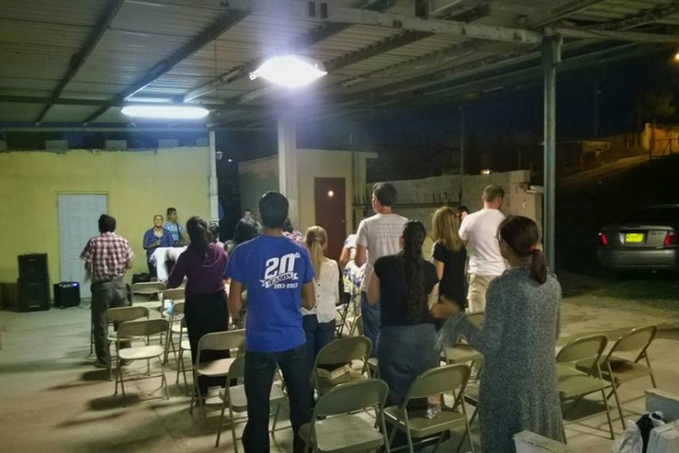 Fellowship with brothers and sisters in Christ from a different region.